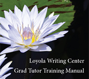 Graduate Tutor Training Manual Cover